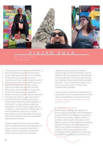 Page 8 of Viajar Sola