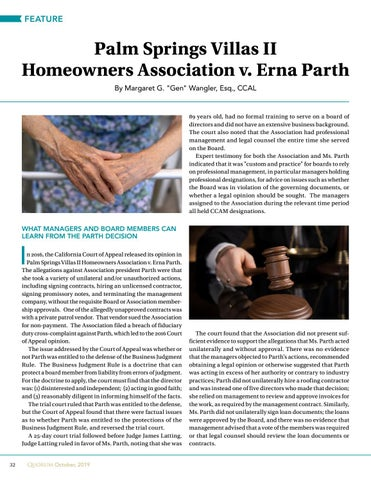 Page 32 of Palm Springs Villas II  Homeowners Association v. Erna Parth