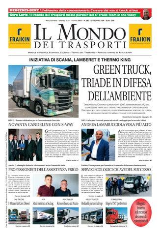 Fratelli Martinelli Trasporti.Il Mondo Dei Trasporti Ottobre 2019 By Vega Editrice Issuu