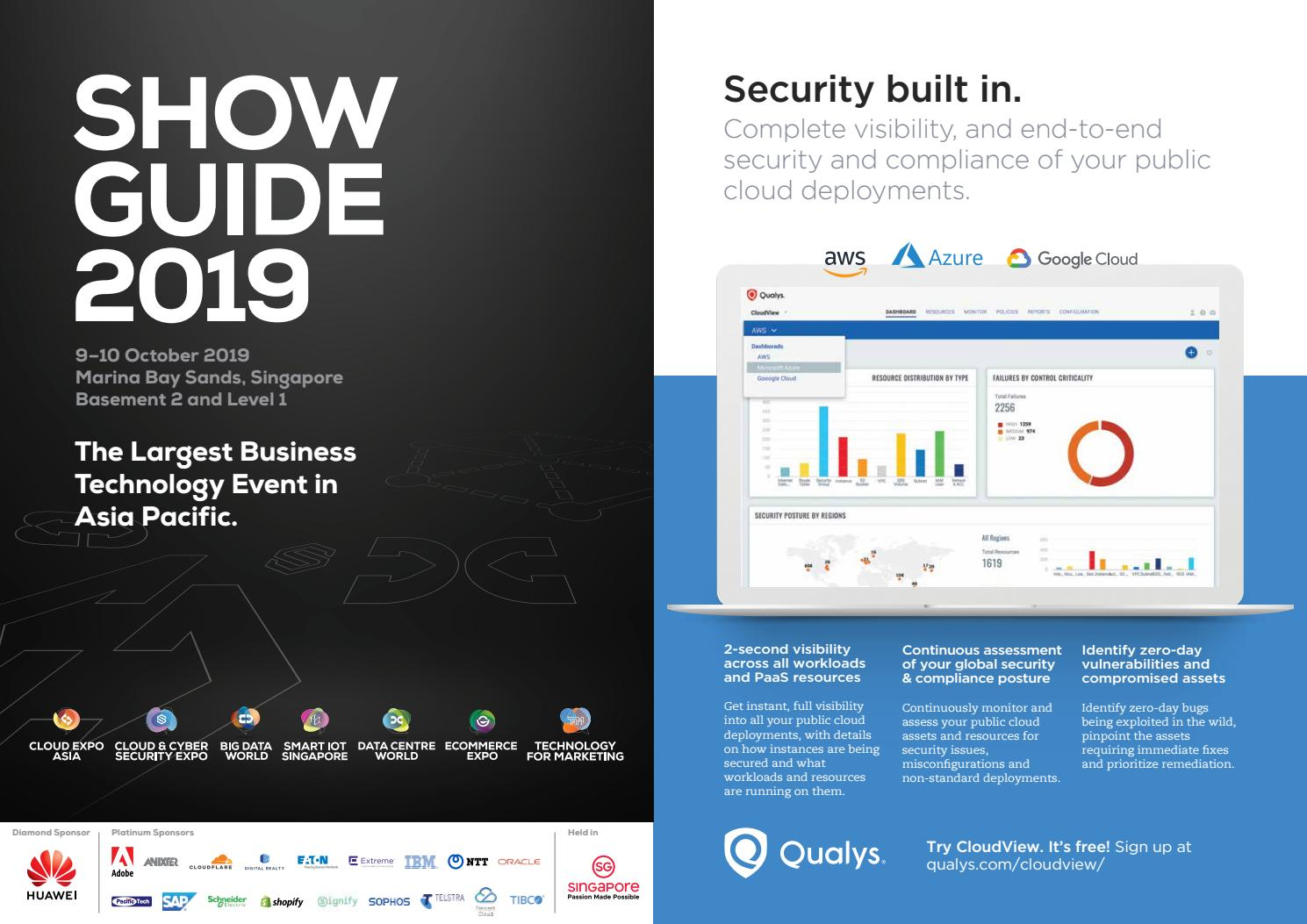 Cloud Expo Asia Show Guide 2019 by Cloud Expo Asia - issuu