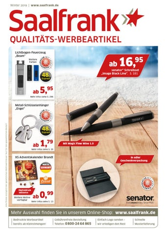 Saalfrank Werbeartikel Katalog Winter 2019 By Bettmer Gmbh Issuu
