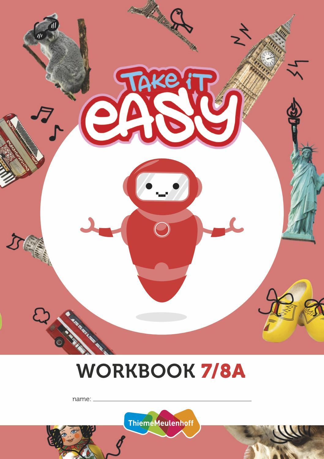 Onwijs Take it Easy groep 7-8A by ThiemeMeulenhoff - issuu PZ-27