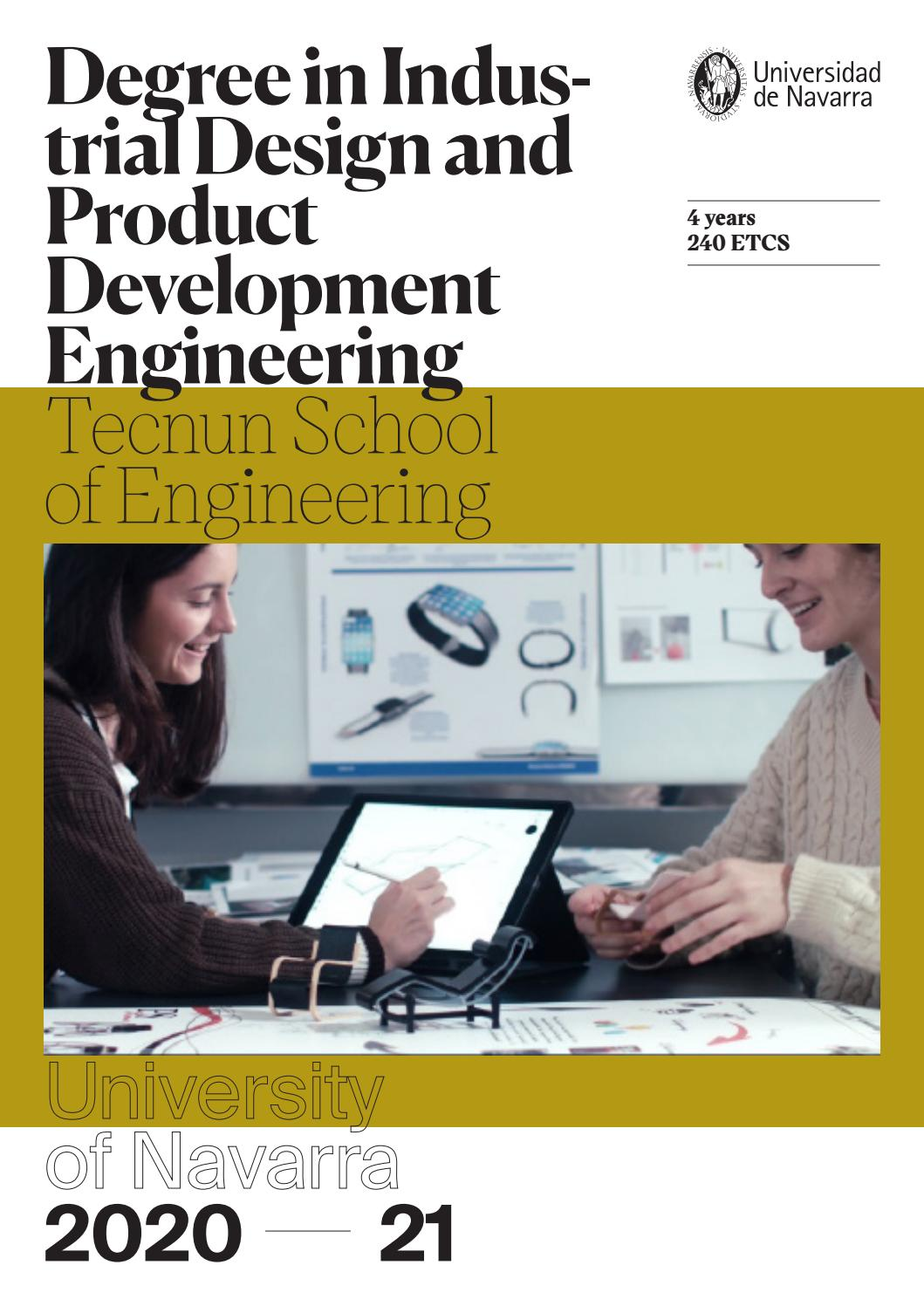 Degree In Industrial Design And Product Development Engineering By Universidaddenavarra Issuu