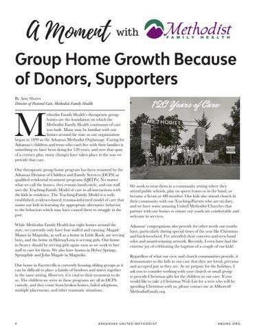 Page 10 of Group Home Growth Because of Donors, Supporters