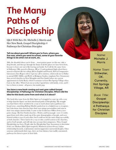 Page 12 of The Many Paths of Discipleship
