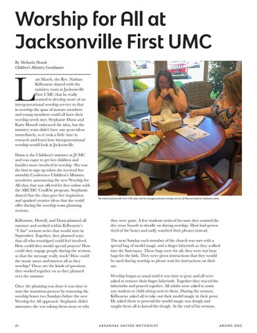 Page 22 of Worship for All at Jacksonville First UMC