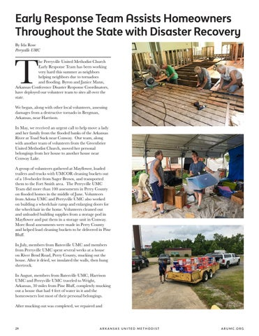 Page 30 of Early Response Team Assists Homeowners Throughout the State with Disaster Recovery