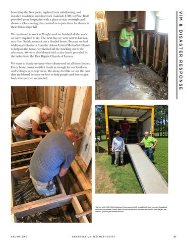 Page 31 of Early Response Team Assists Homeowners Throughout the State with Disaster Recovery