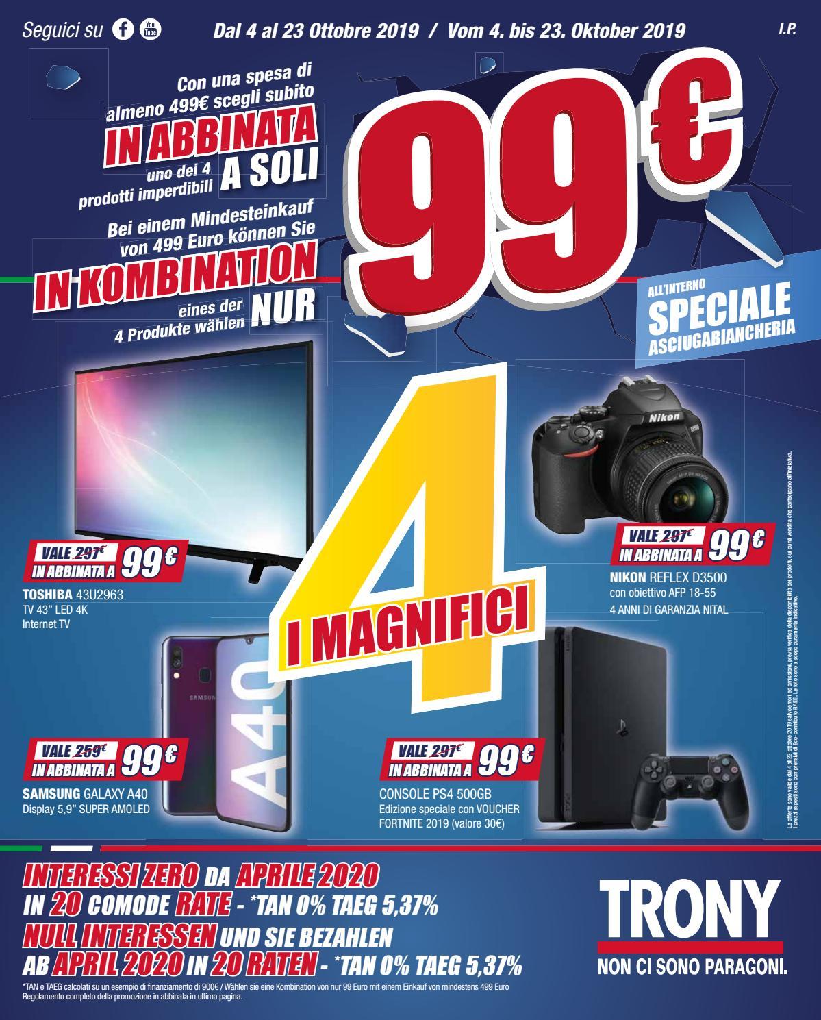 Scaldasonno Da Trony.I Magnifici 4 In Abbinata By Leonardelli Italia Issuu