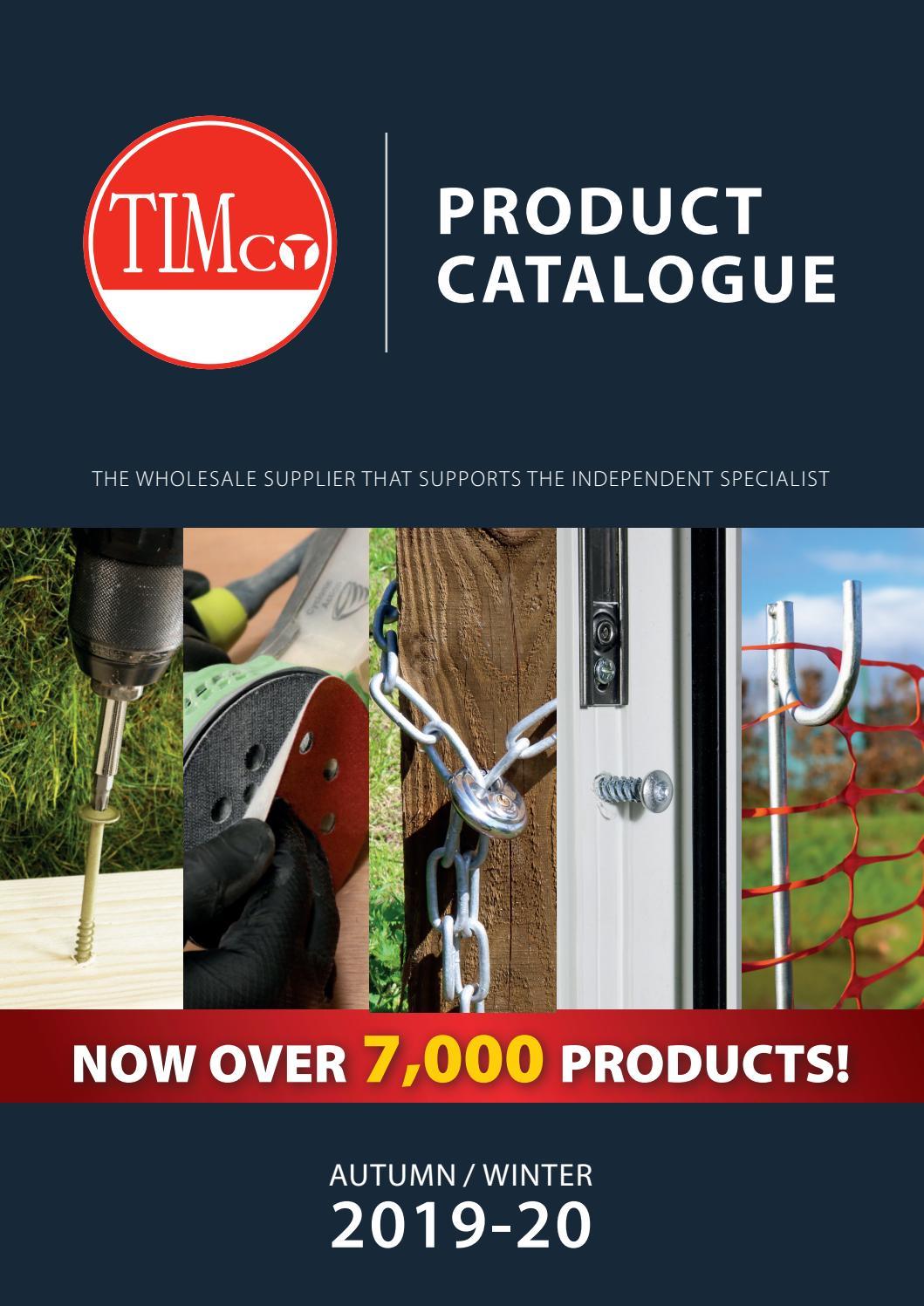 250x TIMCO 4.5 x 75mm C2 Exterior Outdoor Wood Decking Screws T20 Torx Head Bit