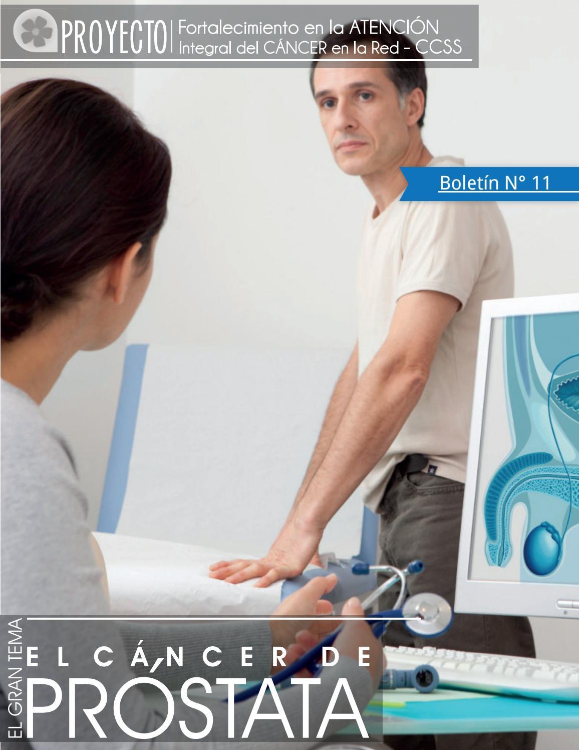 adenoma de próstata mediano con