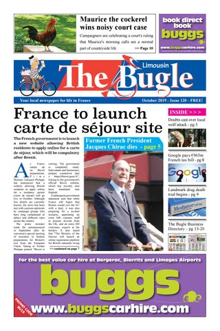 foto de The Bugle Limousin - Oct 2019 by The Bugle - issuu