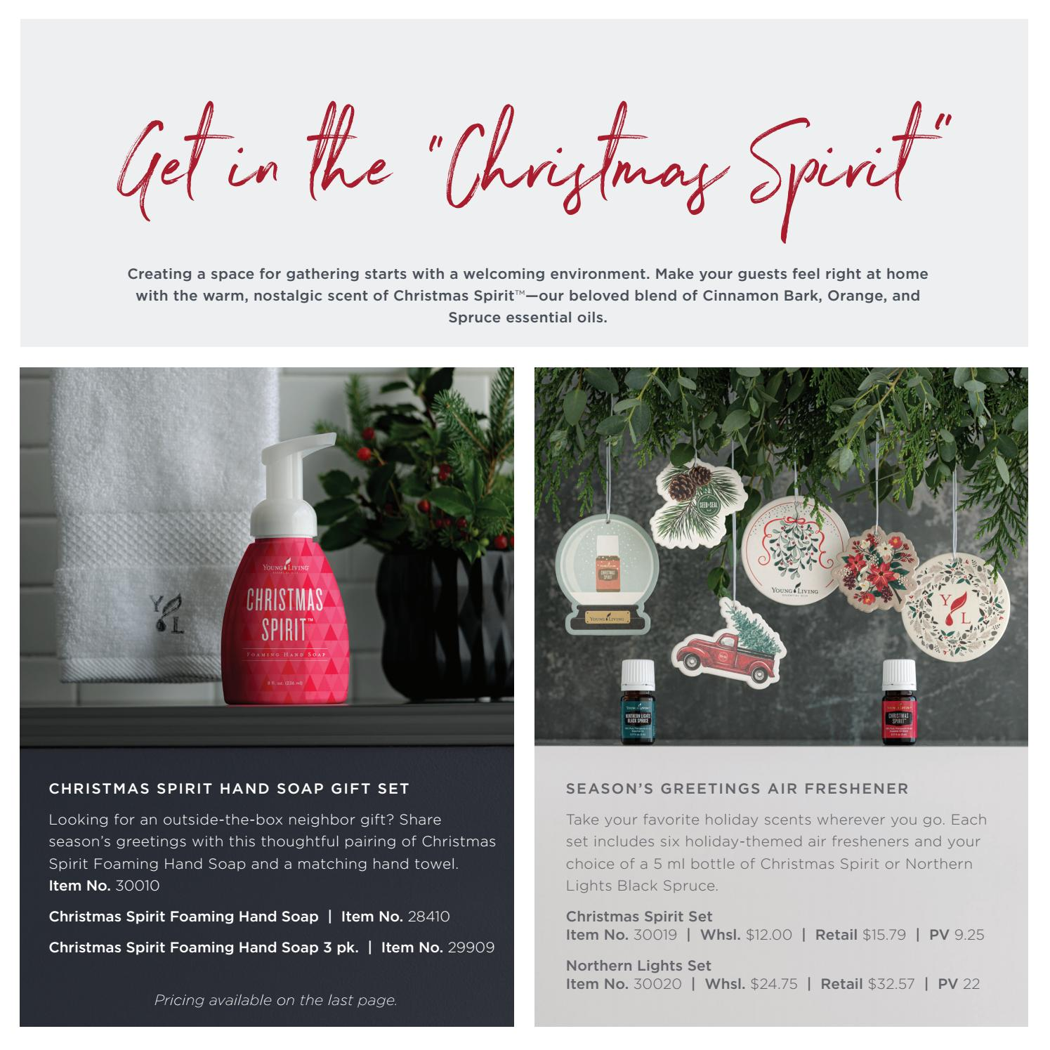 2019 U.S. Holiday Catalog: Wrapping Up 25 Years by Young Living Essential Oils - Issuu