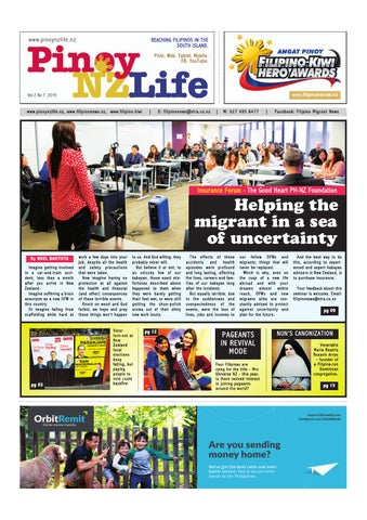 Pinoy Nz Life Issue 7 By Filipino News Issuu