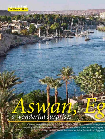 Page 90 of Aswan, Egypt; A Wonderful Surprise