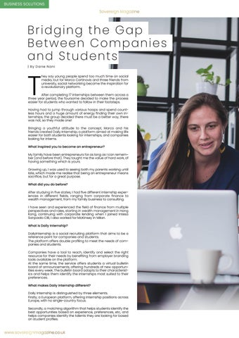 Page 34 of Bridging the gap between students and companies
