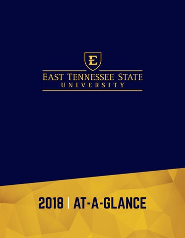 Etsu Graduation 2020.Etsu 2018 Fact Sheet Booklet By East Tennessee State