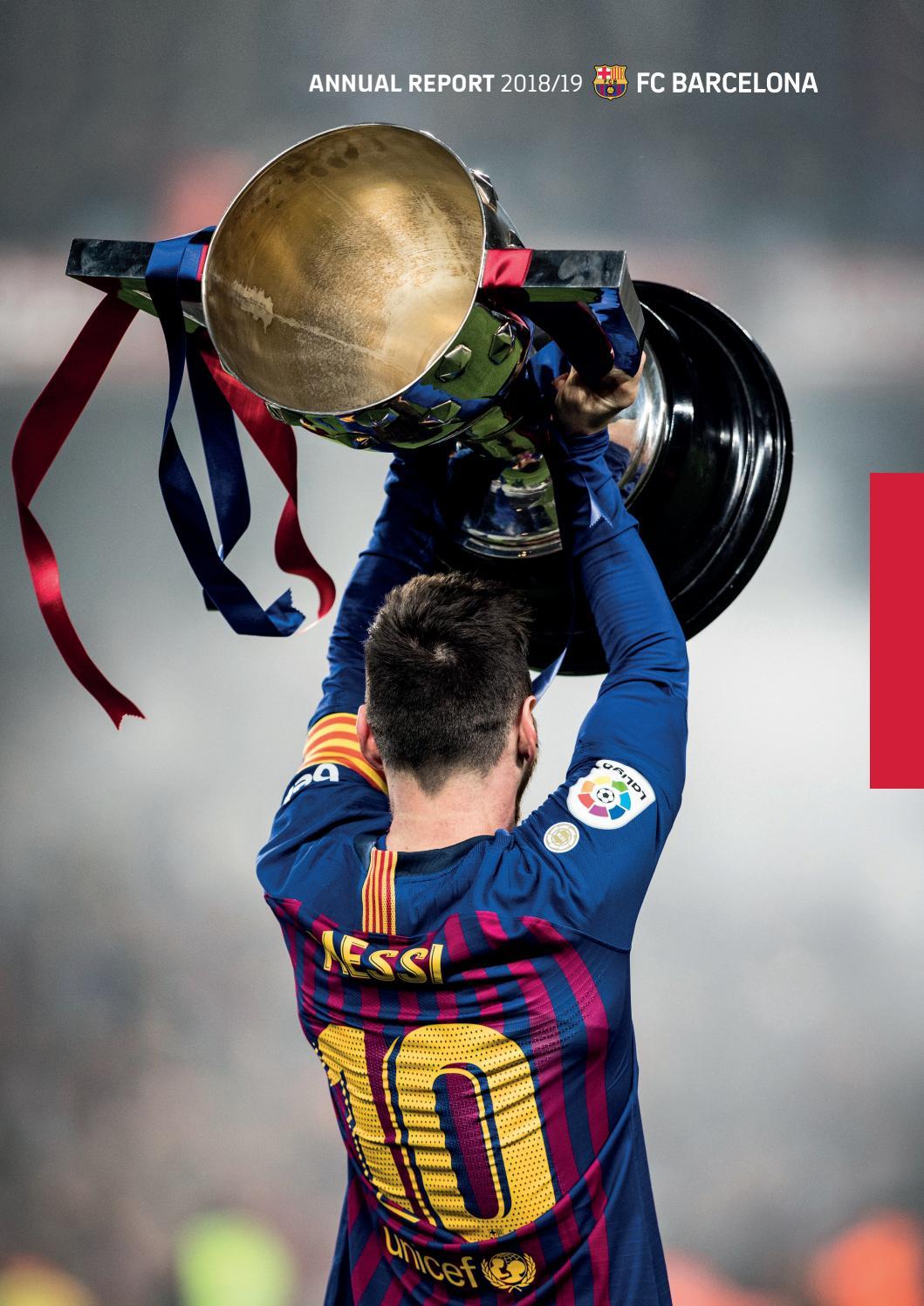Fc Barcelona Annual Report 2018 19 By Fc Barcelona Issuu