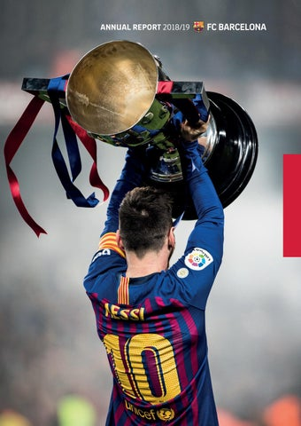 Fc Barcelona Annual Report 2018 19 By Fc Barcelona Issuu