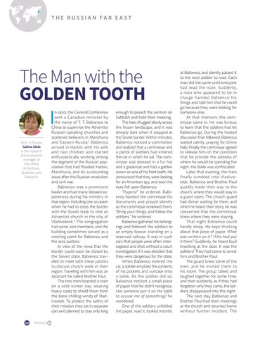 Page 10 of The Man with the GOLDEN TOOTH