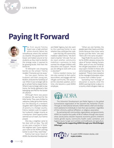 Page 14 of Paying It Forward