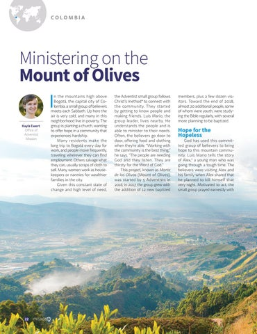 Page 22 of Ministering on the Mount of Olives