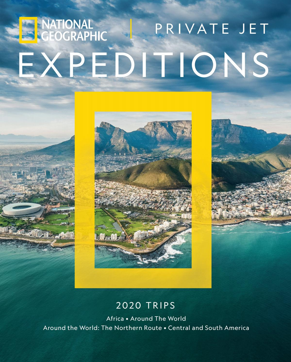 Resultado de imagen para Nat Geo Expeditions route central and South America 2020