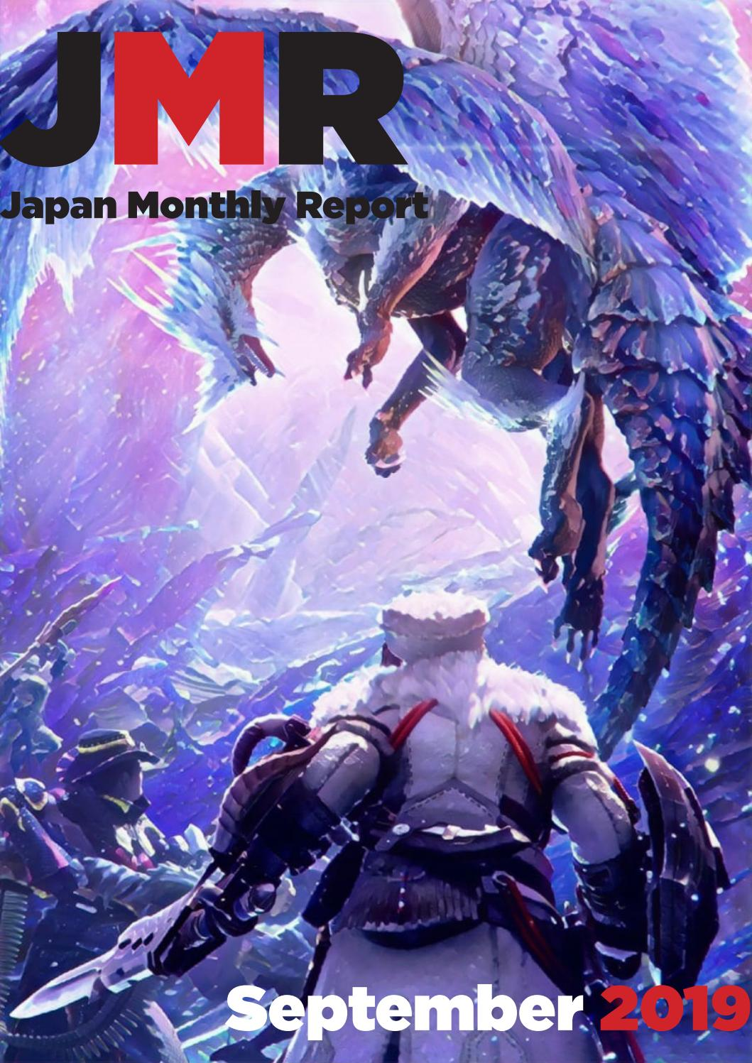 Japan Monthly Report For September 2019 By Gamedatalibrary