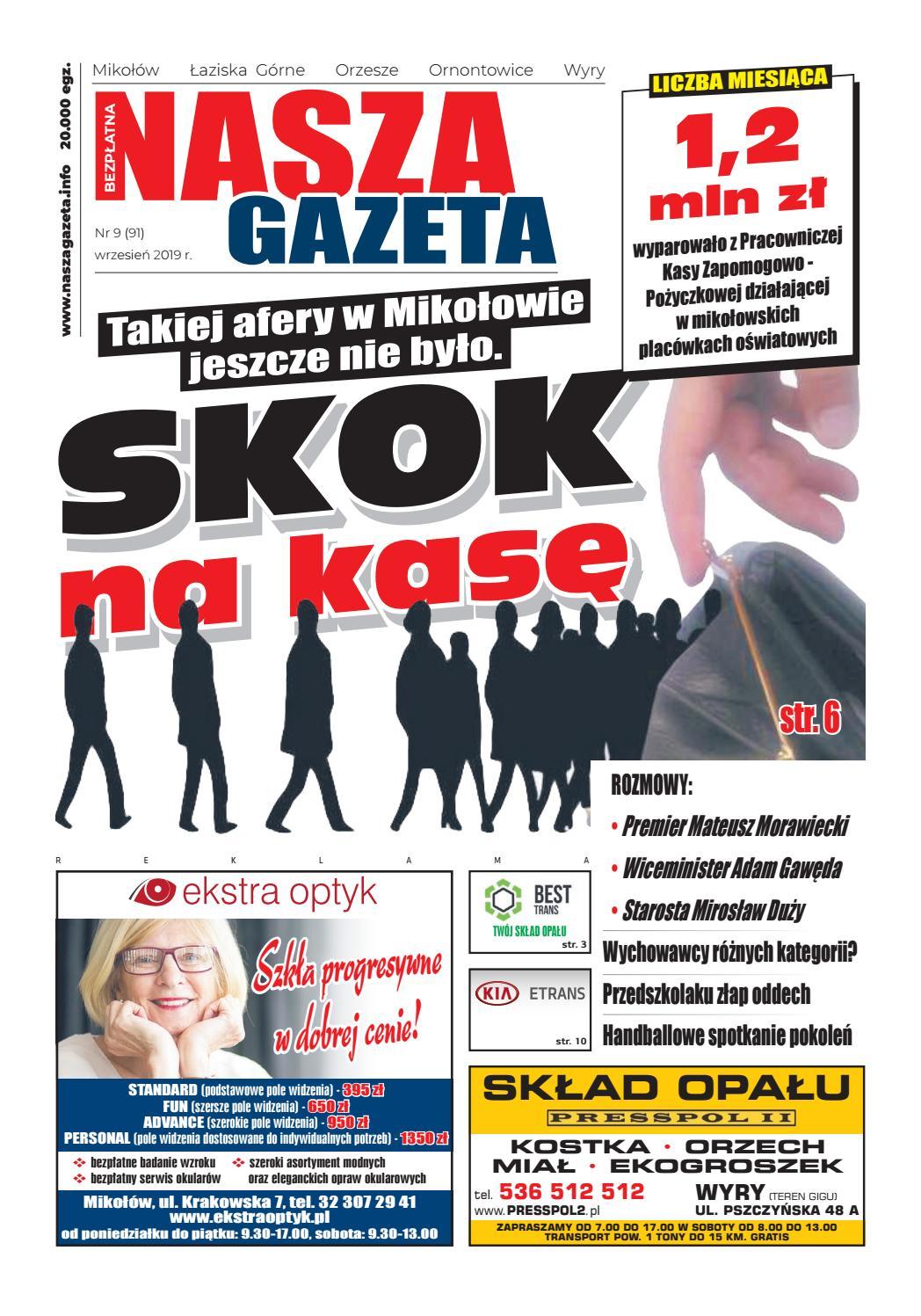 Nasza Gazeta Mikołów 092019 By Ko Production Issuu