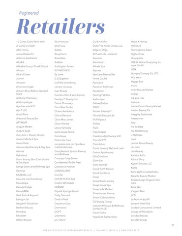 Page 59 of Registered Retailers & Press