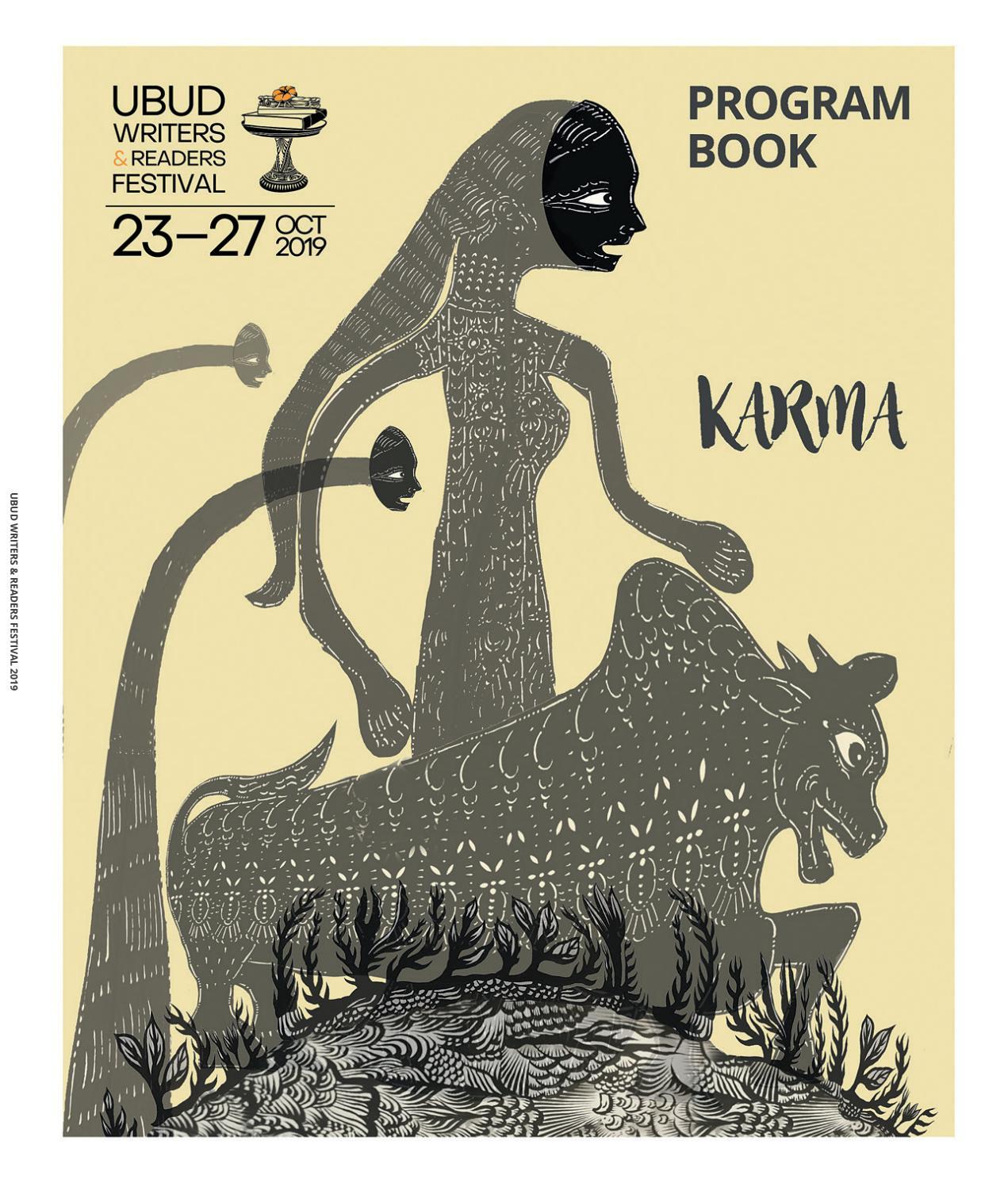 Ubud Writers Readers Festival 2019 Program Book By Ubud
