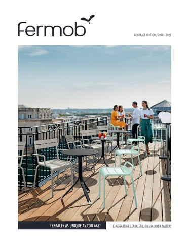 Fermob - Contract catalogue 2020 UK-DE by Fermob - issuu
