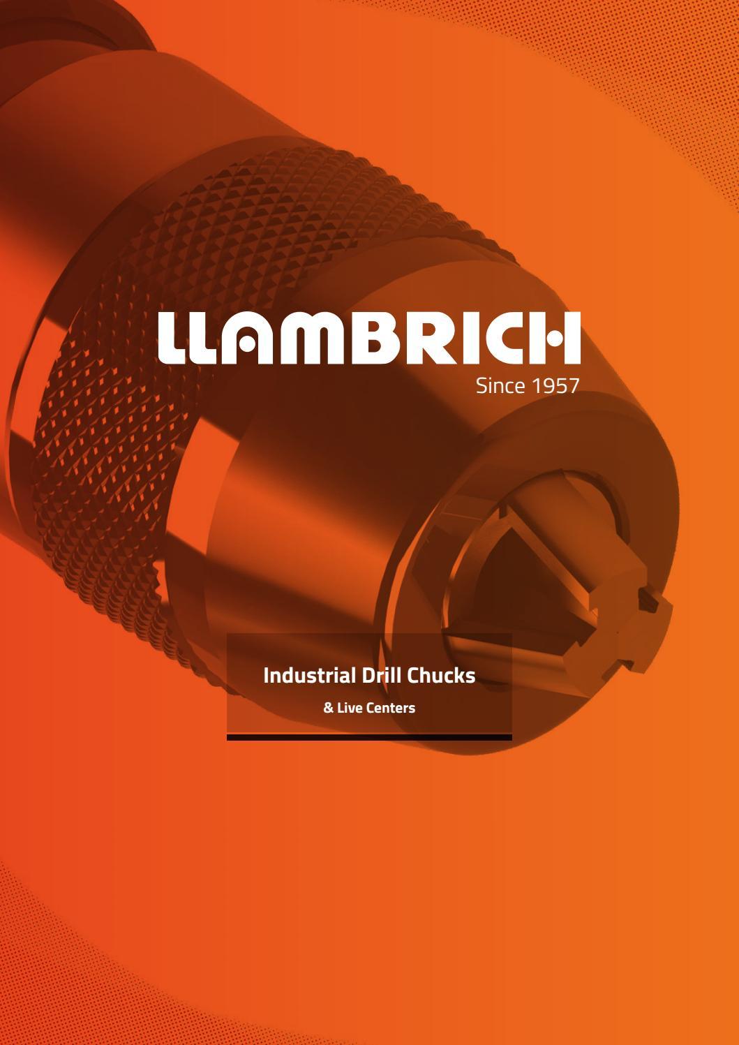 Llambrich 1//2 Straight Shank Shank to Jacobs Taper 3 Arbor