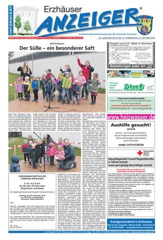 Erzhauser Anzeiger Kw41 By Printdesign24gmbh Issuu