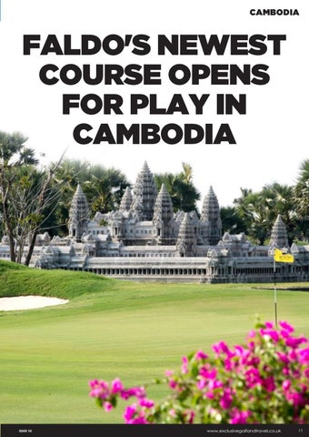 Page 11 of FALDO'S NEWEST COURSE OPENS FOR PLAY IN CAMBODIA