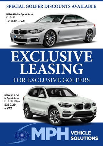 Page 20 of EXCLUSIVE LEASING FOR EXCLUSIVE GOLFERS