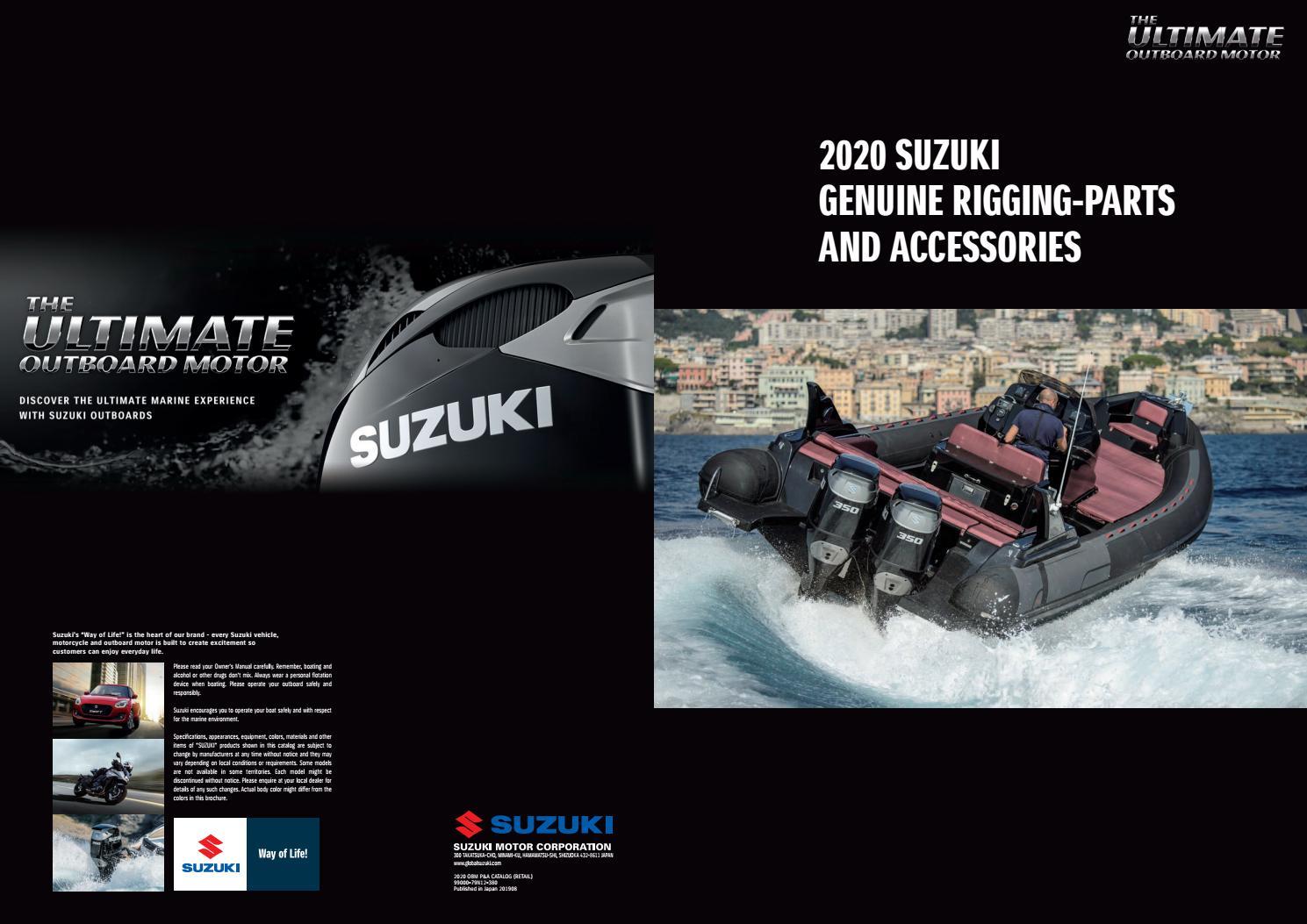 """Suzuki Outboard Parts 2/"""" Voltmeter  Gauge 34600-93J11"""
