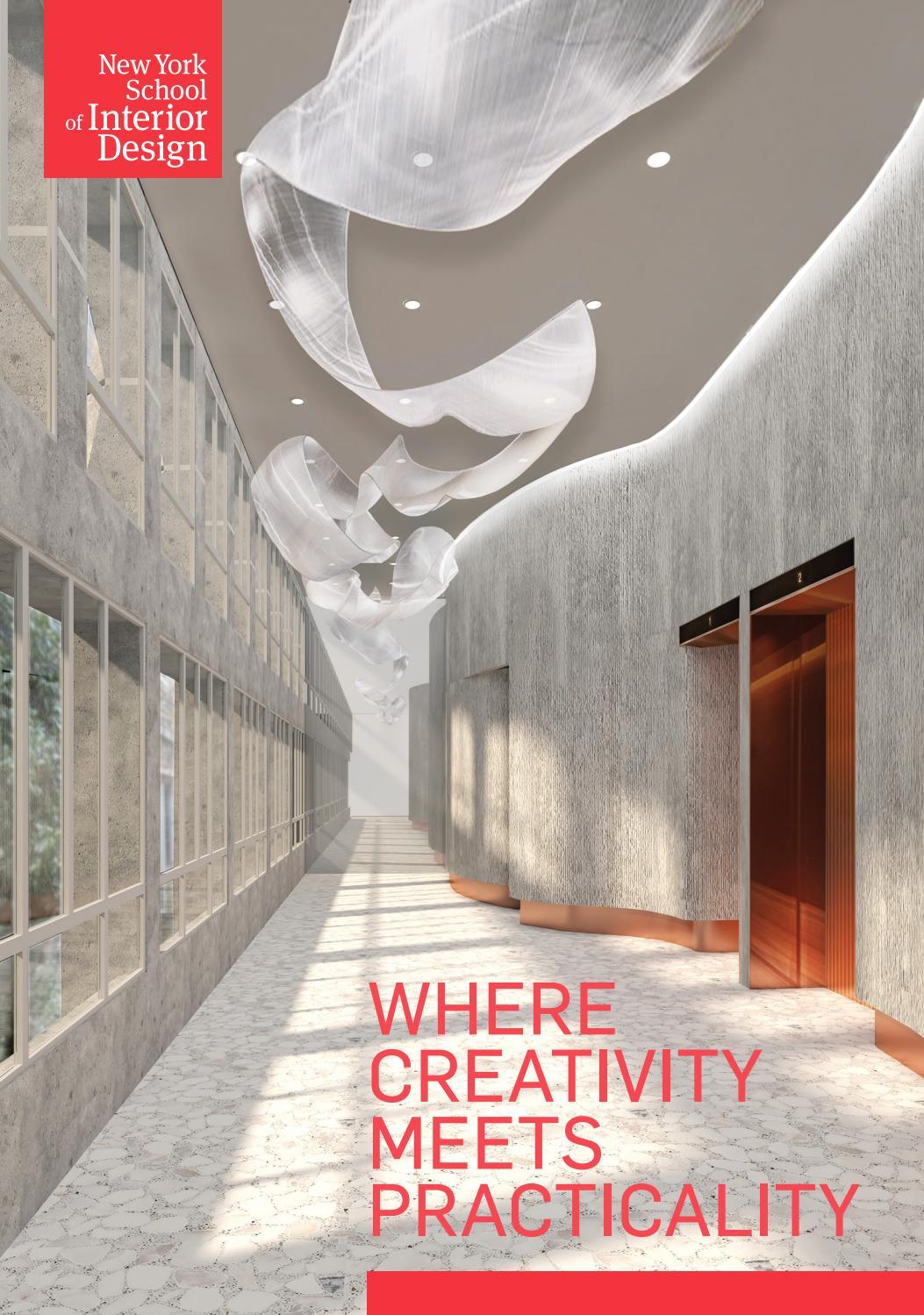 View Book 2020 2021 By New York School Of Interior Design Issuu