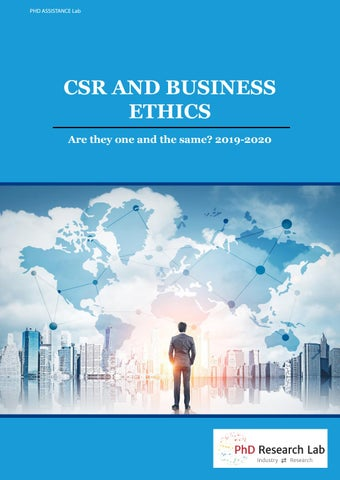 Dissertation Topic In Busines And Management Research On Csr Ethic Recent Trend By Phd Assistance Issuu Insider Trading Topics