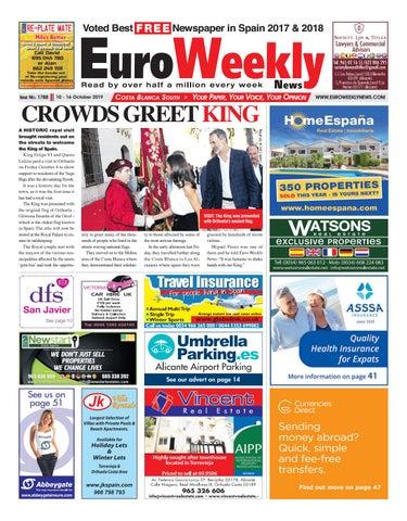 Euro Weekly News Costa Blanca South 10 16 October 2019