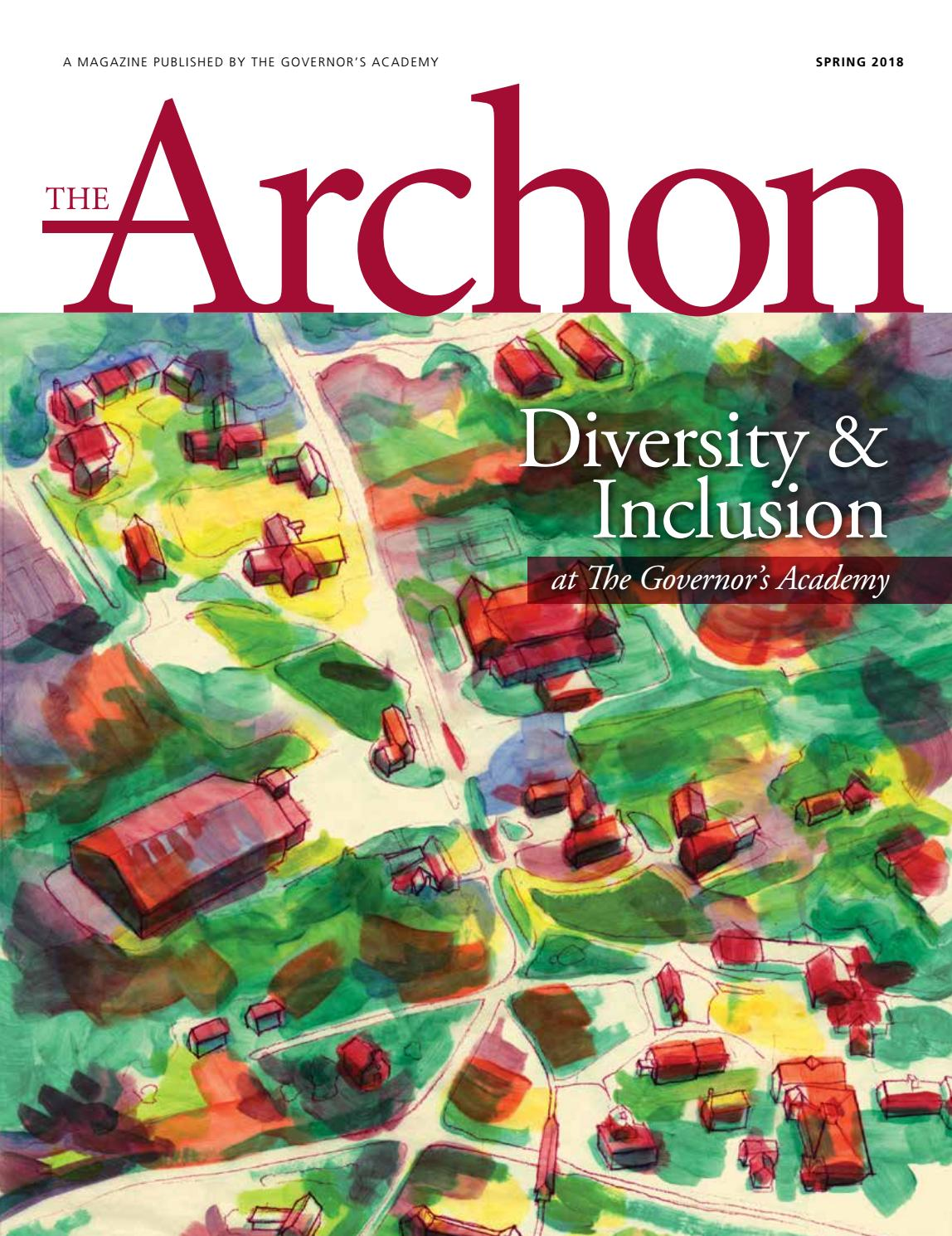 Spring 2018 Archon by The Governor's Academy - issuu
