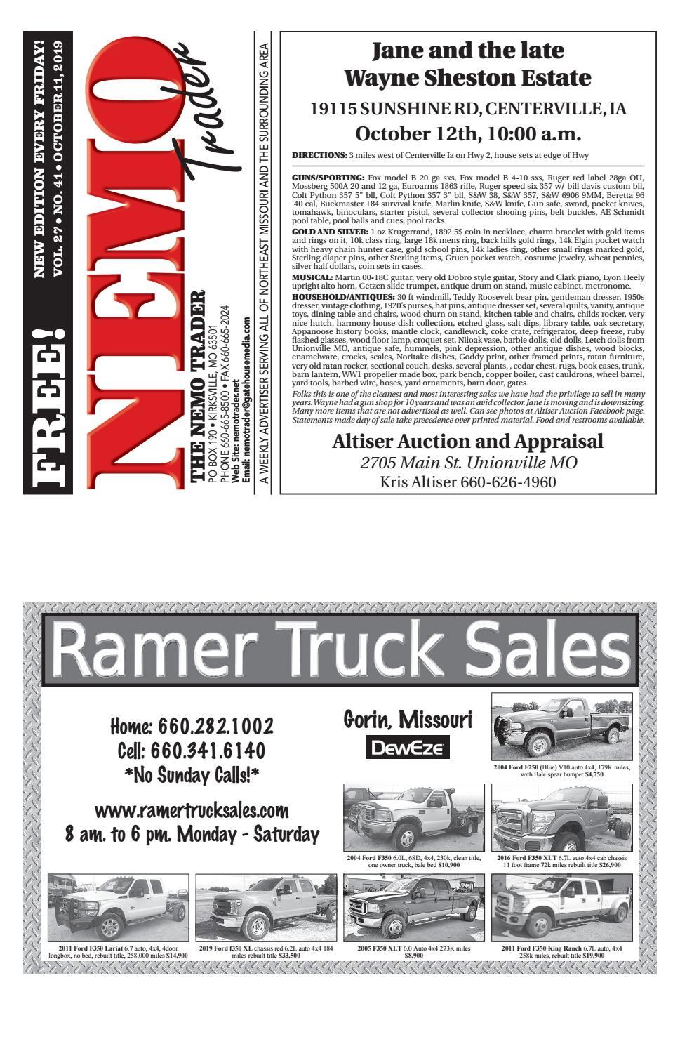 NEMO Trader October 11th, 2019 by NEMO Trader - issuu