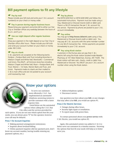 Page 2 of Know your options