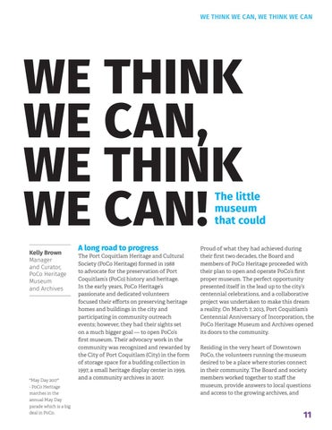 Page 13 of We think we can, we think we can!