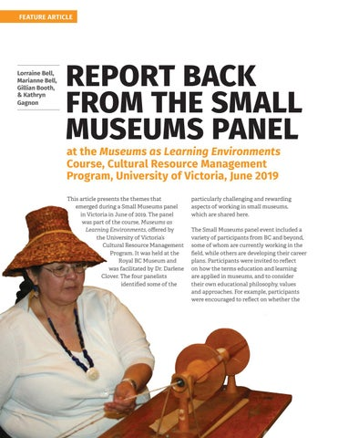 Page 18 of Report back from the small museums panel