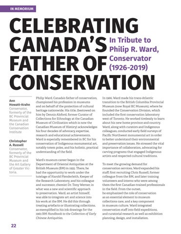 Page 24 of Celebrating Canada's father of conservation