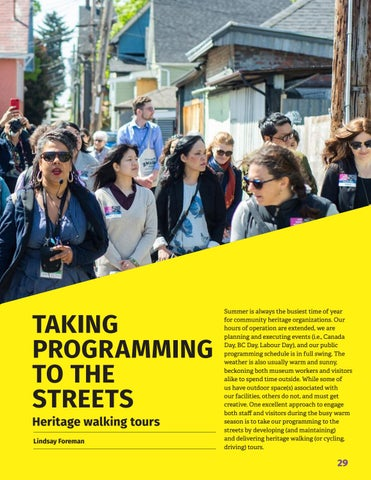 Page 31 of Spotlight on museum ed: Taking programming to the streets
