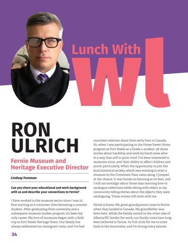 Page 36 of Lunch with owl: Ron Ulrich