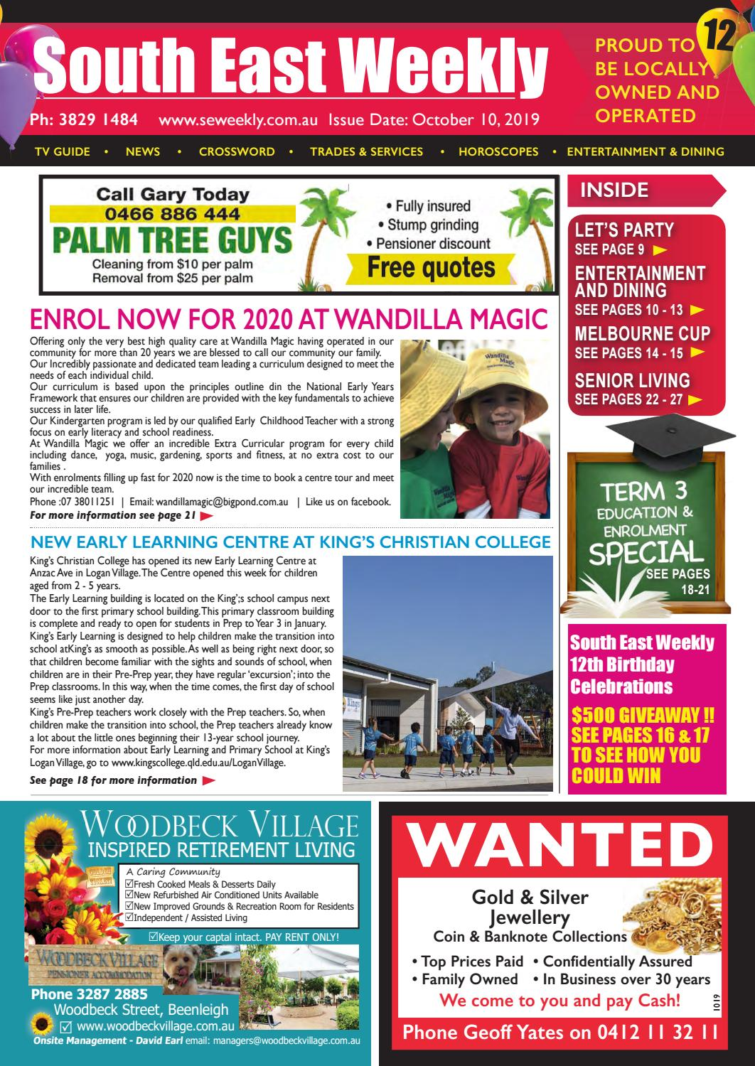South East Weekly Magazine - October 10, 2019 by South East Weekly Magazine  - issuu