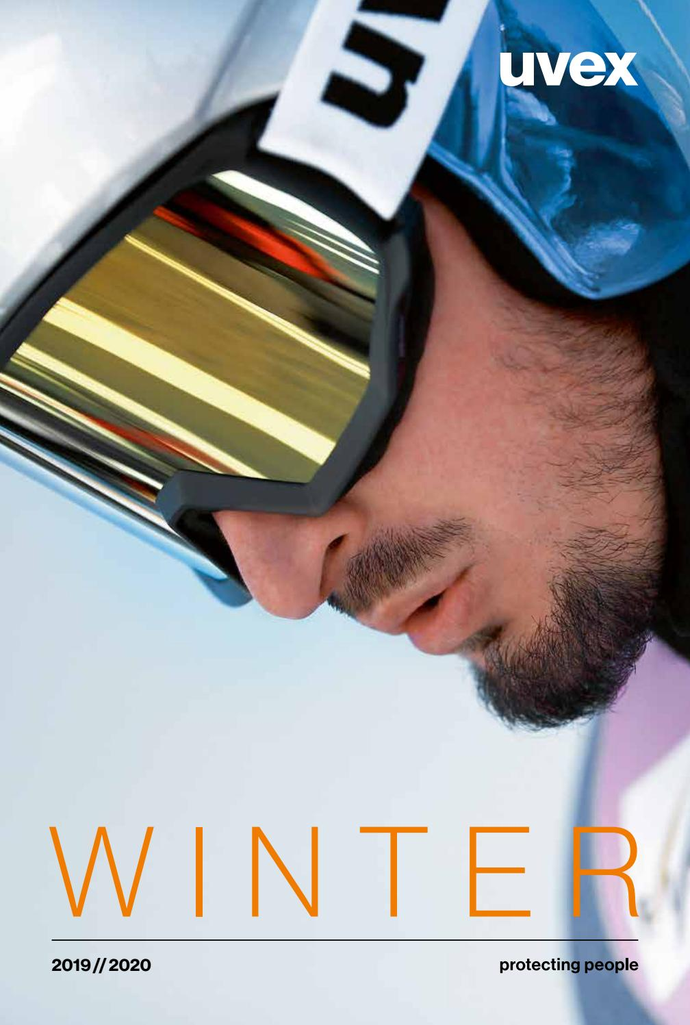 High Tech Clear Lens Safety Sport Cycling Skiing UVEX Carbon Vision Goggles
